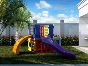Perspectiva do Playground do Spazio Salvador Norte