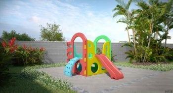 Perspectiva do playground do Spazio Soberano