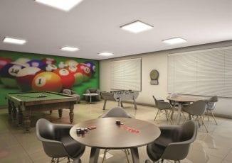 Perspectiva do Salão de Jogos do Parque Solar do Bosque