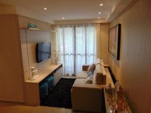 Apartamento Decorado - Foto da sala