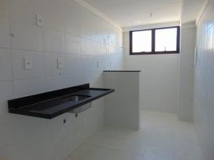 Foto da Cozinha e Área de Serviço do apartamento tipo