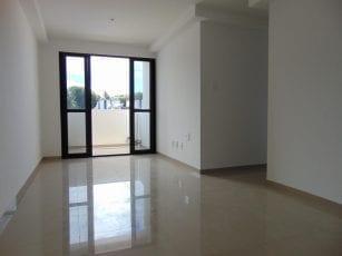 Foto da Sala e Varanda do apartamento tipo