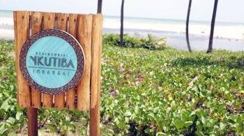 Foto da placa de entrada