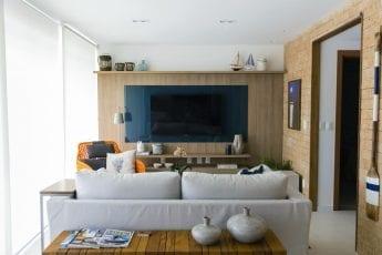 Foto da sala do apartamento tipo