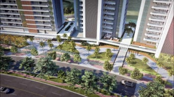 Boulevard - 170 metros de jardins na Av. Oceânica