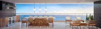 Perspectiva da Varanda - Apartamento 300m² do Undae Ocean.