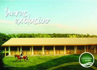 Perspectiva do haras exclusivo