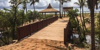 Ponte sobre o rio Imbassaí.