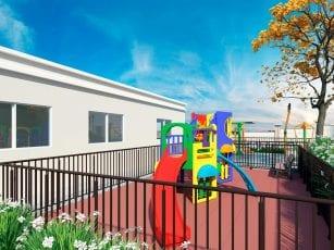 Perspectiva do playground do Spazio Mirante do Iguatemi