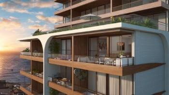 Perspectiva da varanda do NAU Barra Life Style.