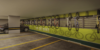 Perspectiva do Bike Space.