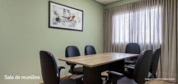 Perspectiva da sala de reuniões do Smart Orla.