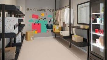 Perspectiva do Espaço E- Commerce