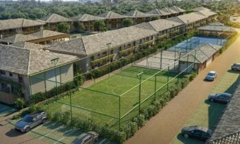 Perspectiva Campo de Futebol do Bioflora