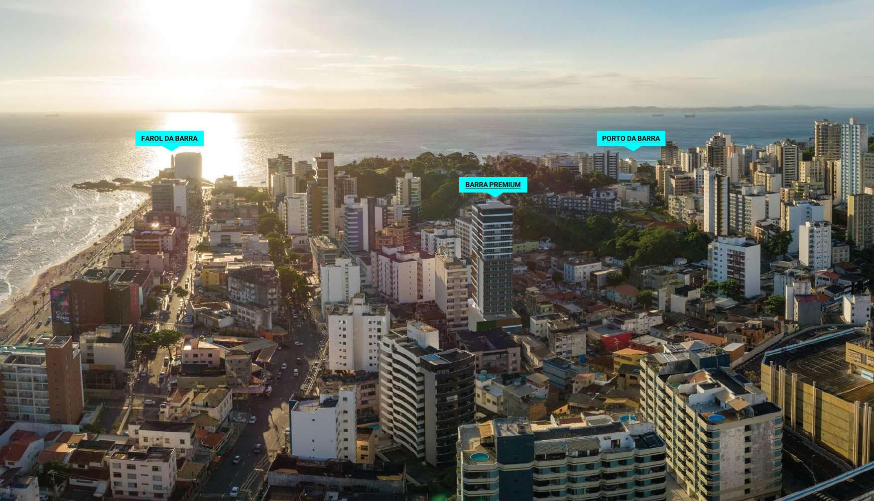 Foto da localização do BARRA PREMIUM