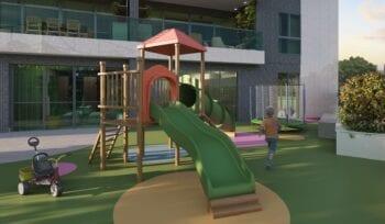 Perspectiva do playground.